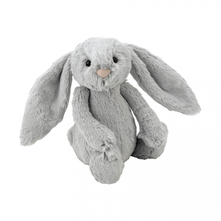 Jellycat Bashful Bunny Medium Silver