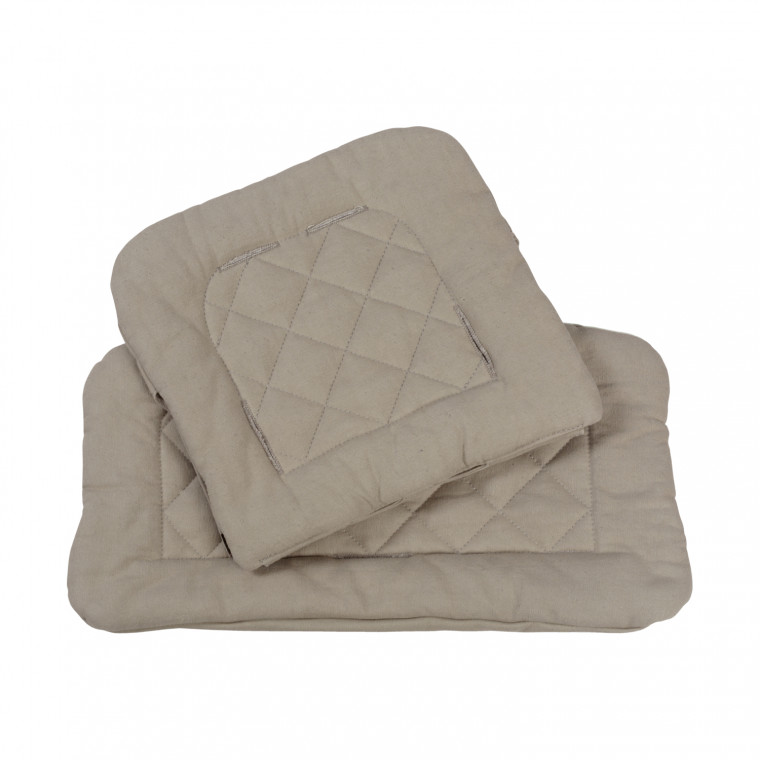 Kidsmill Up! E3 Quilted Kussen Taupe