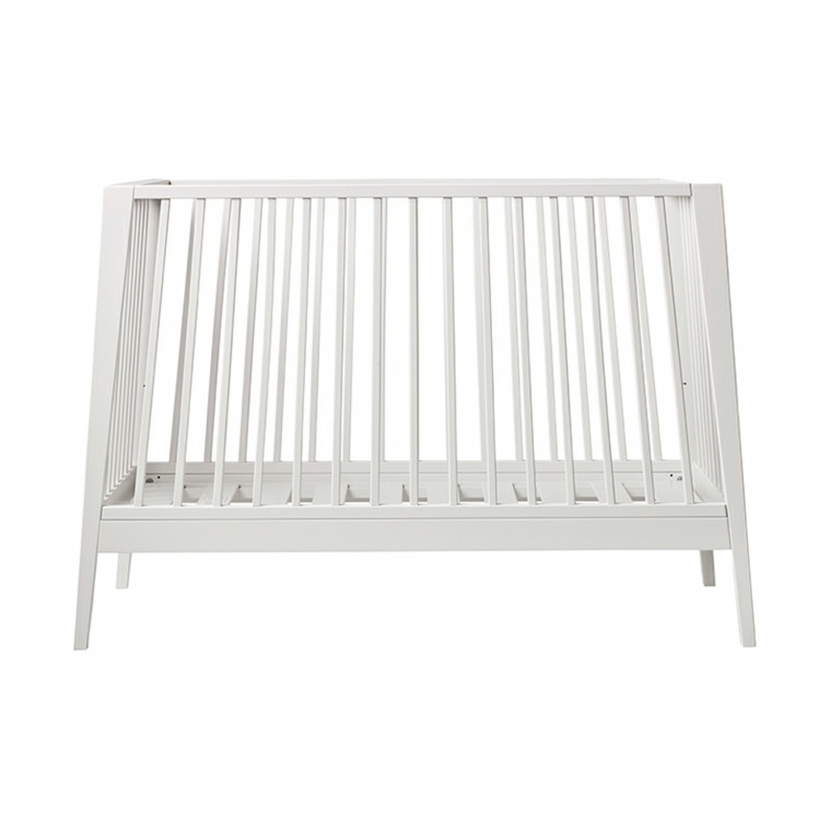 Leander Linea Babybed White