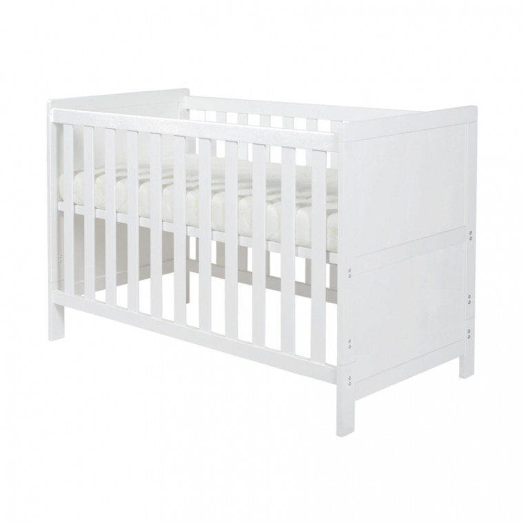 Basicline Babybed Ralph Wit 70 x 140 cm