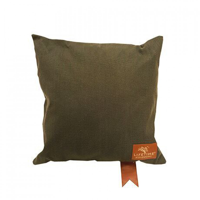 Life Time Adventure Kussen Olive 45 x 45 cm
