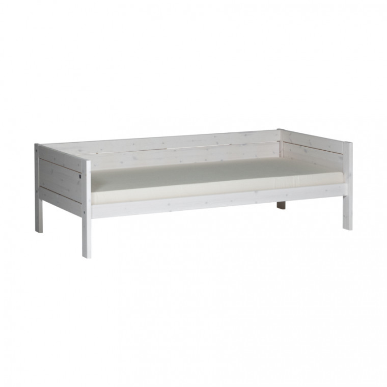 Life Time Bed Whitewash 90 x 200 cm