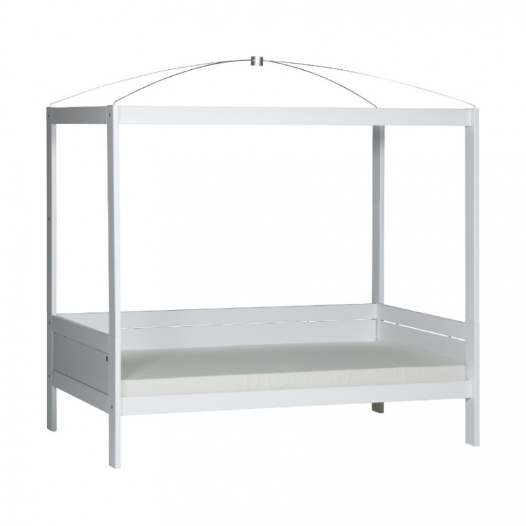 Life Time Hemelbed Luxe Wit Gelakt