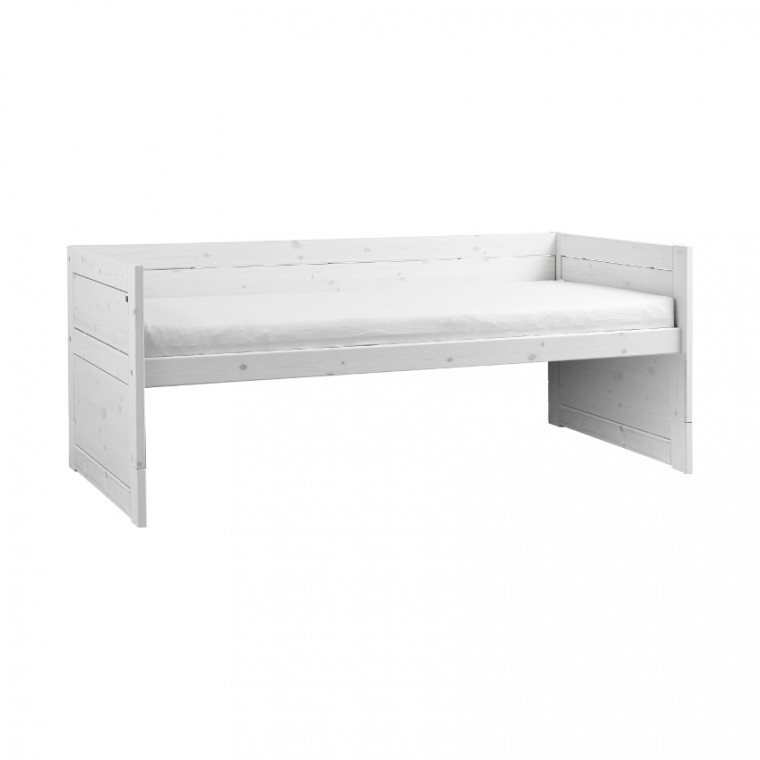 Life Time Kajuitbed Luxe Whitewash