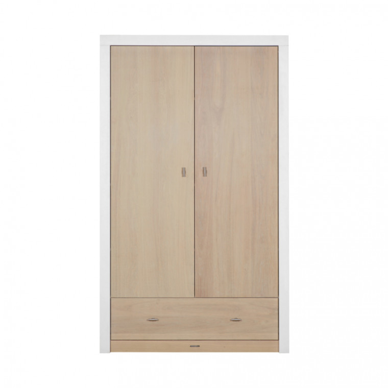 Kidsmill Pure Oak Kledingkast Wit / Naturel