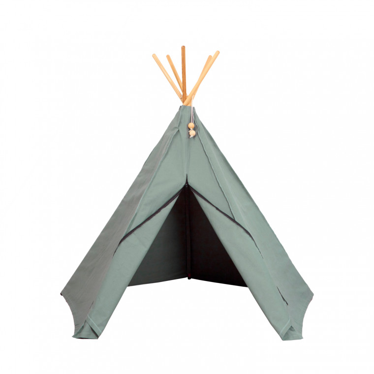 Roommate Hippie Tipi Tent Sea Grey