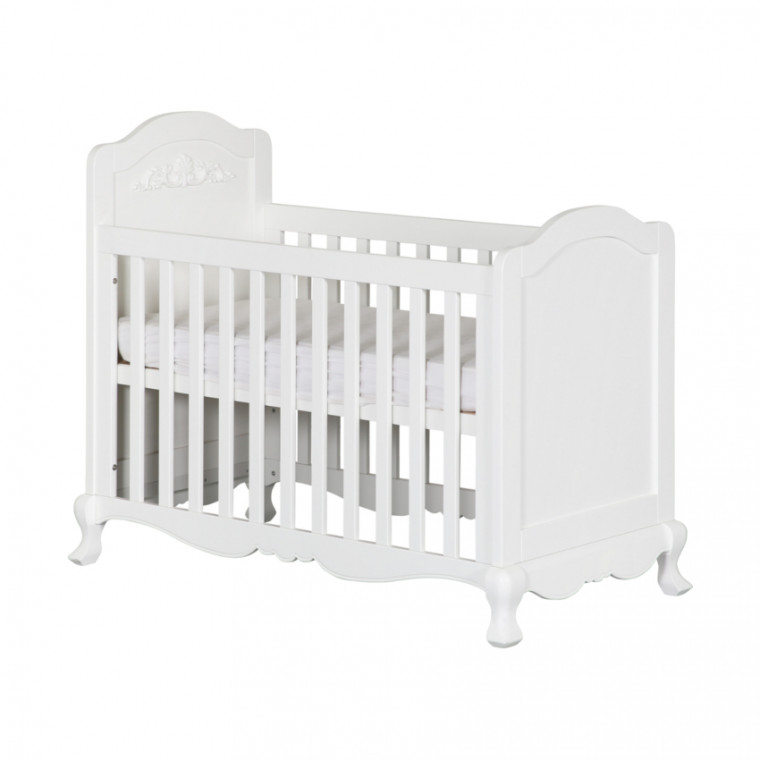 Kidsmill Royal Babybed Wit 60 x 120 cm