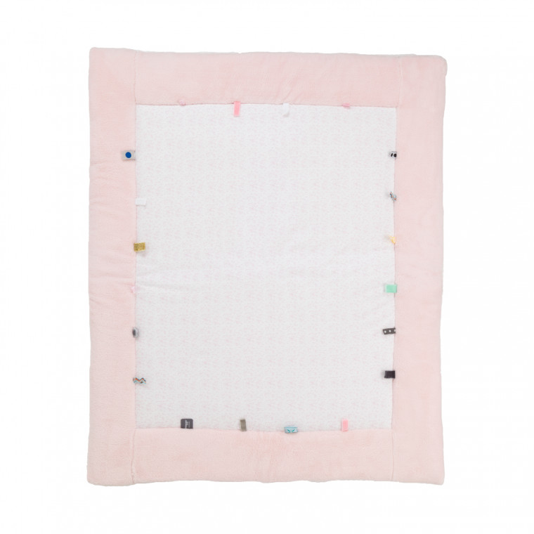Snoozebaby Cheerful Playing Boxkleed Orchid Blush 75 x 95 cm