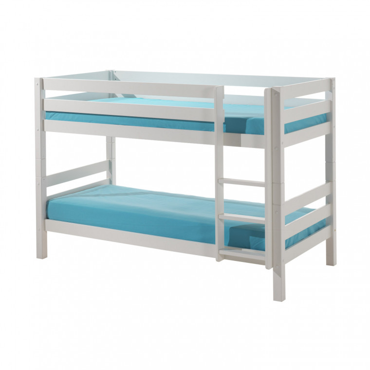 Vipack Pino Stapelbed Laag Wit
