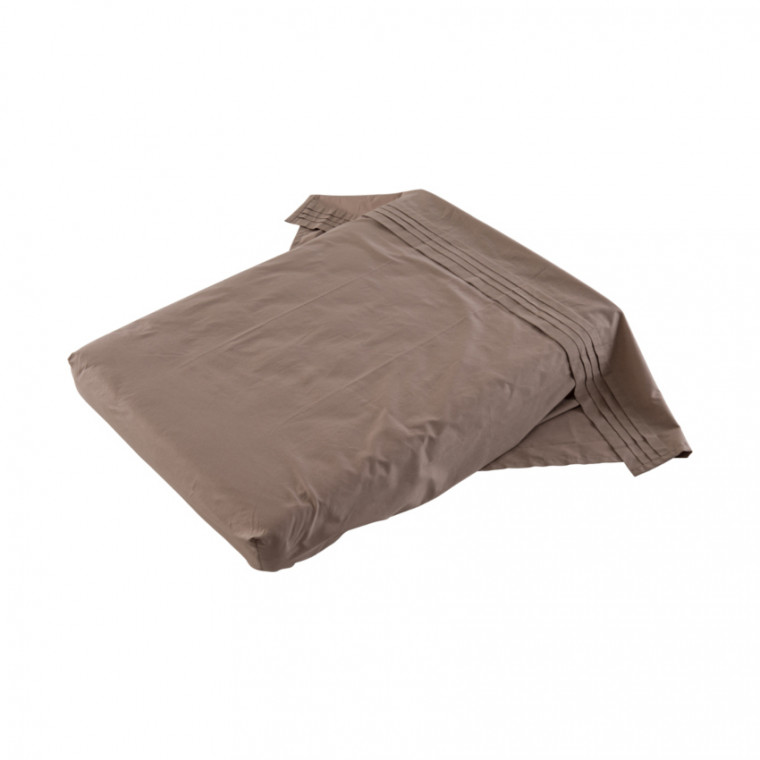 Witlof for kids Tuck-Inn Ledikantlaken Taupe 110 x 135 cm