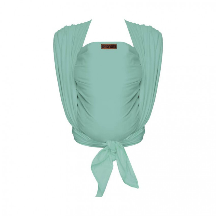 ByKay Woven Deluxe Cotton Draagdoek Mint Green