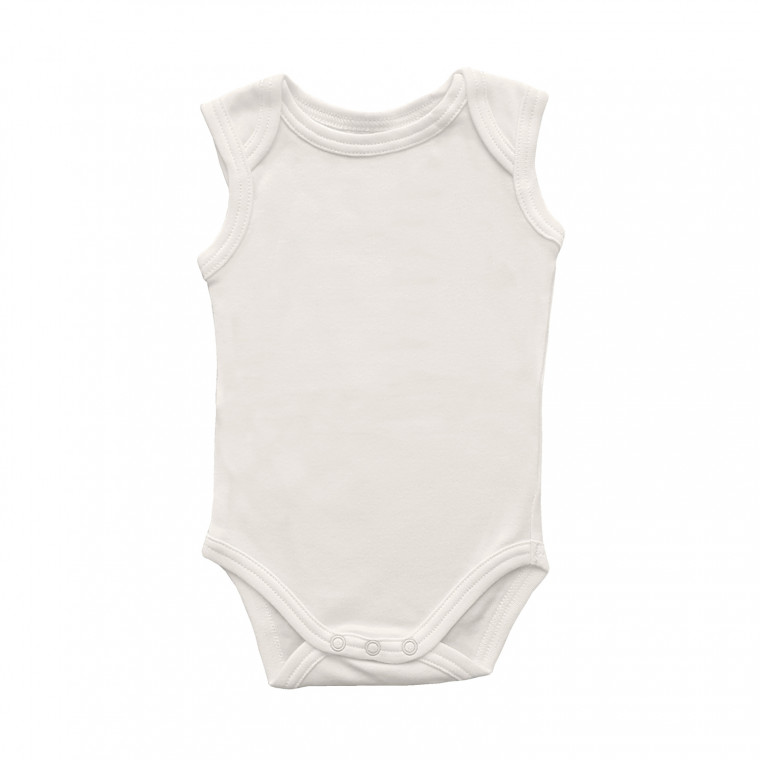 Babypark Romper Mouwloos Offwhite