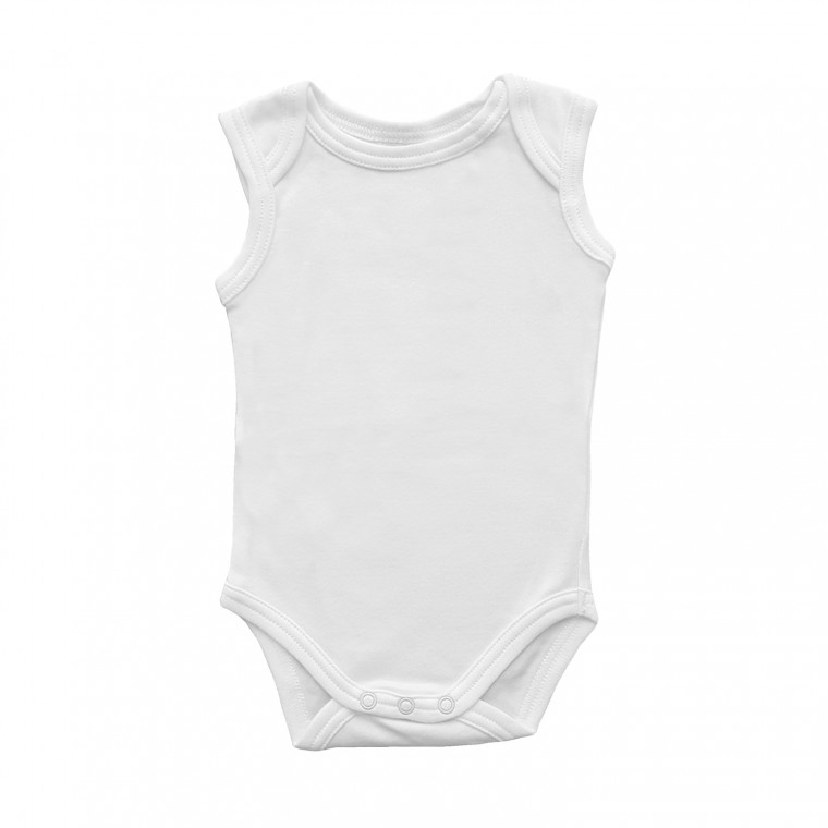 Babypark Romper Mouwloos Wit
