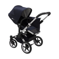 Bugaboo Donkey 3 Duo Classic Kinderwagen 2-in-1 Alu / Dark Navy