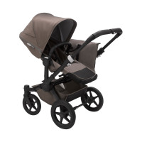 Bugaboo Donkey 3 Duo Mineral Kinderwagen 2-in-1 Black / Taupe