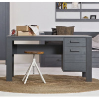 Woood Bureau Dennis Steel Grey