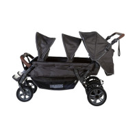 Childhome Sixseater Autobrake Meerlingwagen Antraciet