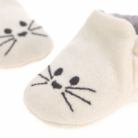 Laessig Little Chums Slofjes Cat Newborn