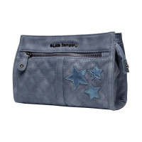 Little Company Bo Quilted Toilettas Blauw