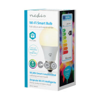Nedis Wi-Fi Smart LED-Lamp E27 Full Colour / Warm White