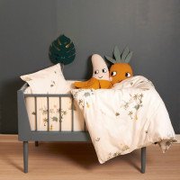 Roommate Tropical Bed / Boxbumper Offwhite