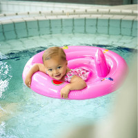 Swim Essentials Swim Seat Pink 0-12 Mnd