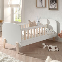 Vipack Kiddy Peuterbed Wit 70 x 140 cm