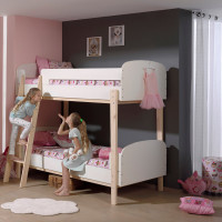 Vipack Kiddy Stapelbed Wit 90 x 200 cm