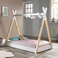 Vipack Tipi Peuterbed Wit 70 x 140 cm
