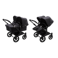 Bugaboo Donkey 3 Twin Mineral Kinderwagen 2-in-1 Black  Black Washed