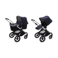 Bugaboo Fox 2 Classic Kinderwagen 2-in-1 Alu  Dark Navy