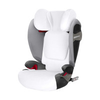 Cybex Pallas S-Fix  Solution S-Fix Zomerhoes White