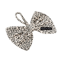 House Of Jamie Bow Tie Speendoekje Snow Leopard Velvet
