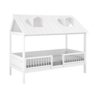Life Time Beach House Bed Luxe Wit Gelakt