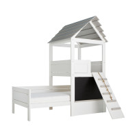 LIFETIME Kidsrooms Play Tower Hutbed Luxe Wit Gelakt
