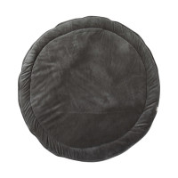 Little Indians Boxkleed Corduroy Green Rond 90 cm