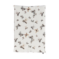 Mies & Co Fika Butterfly Waskussenhoes Offwhite
