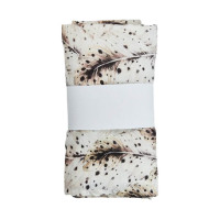 Mies & Co Soft Feathers Swaddle White 120 x 120 cm