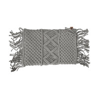Overseas Gracio Natural Knitted Kussen Taupe 30 x 50 cm