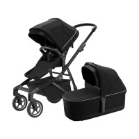 Thule Sleek Kinderwagen 2-in-1 Midnight Black On Black