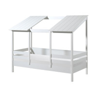 Vipack Housebed Wit / Wit 90 x 200 cm