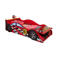 Vipack Toddler Race Car Bed 70 x 140 cm