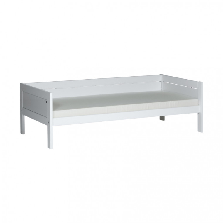 Life Time Basisbed Luxe Wit Gelakt