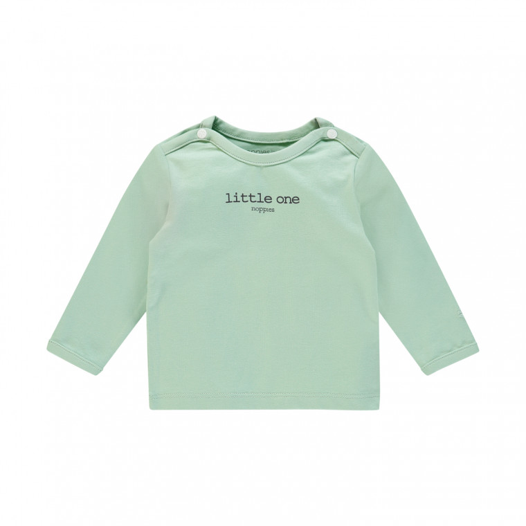 Noppies Hester Longsleeve Grey Mint Mt. 68