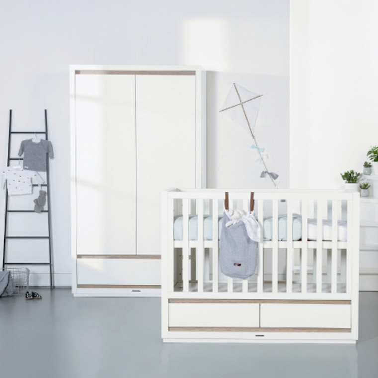 Kidsmill Accent Babybed Wit 60 x 120 cm