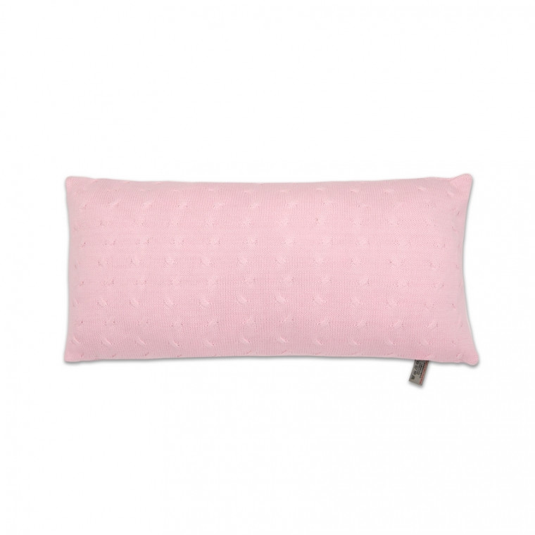 Baby's Only Kussen Kabel Uni Baby Roze 60 x 30 cm
