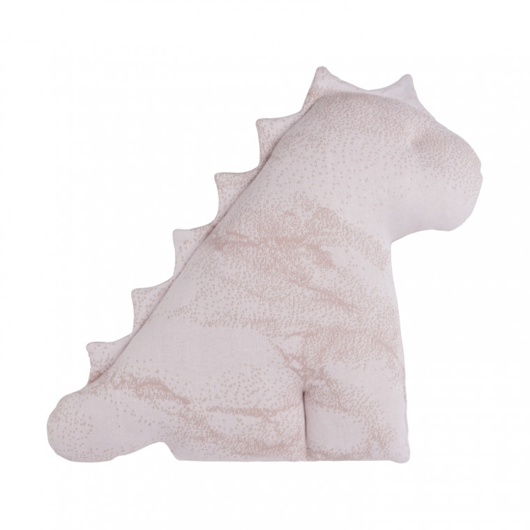 Baby's Only Marble Dino Knuffel Oudroze / Classic Roze