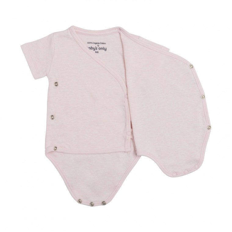 Baby's Only Melange Romper Classic Roze Mt. 50