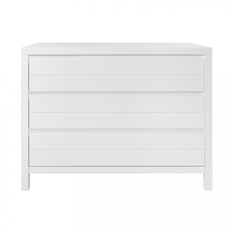 Babykamer Atlantic Wit Commode
