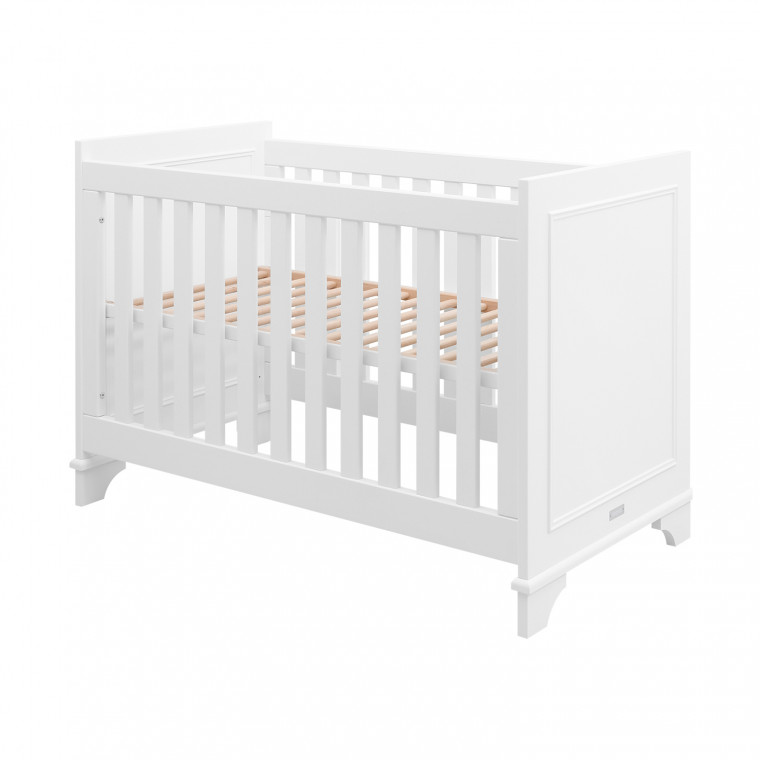 Bopita Charlotte Babykamer Wit | Bed 60 x 120 cm + Commode